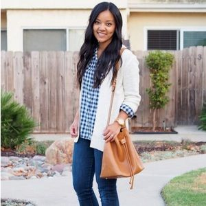Old Navy}• cream cardigan light material